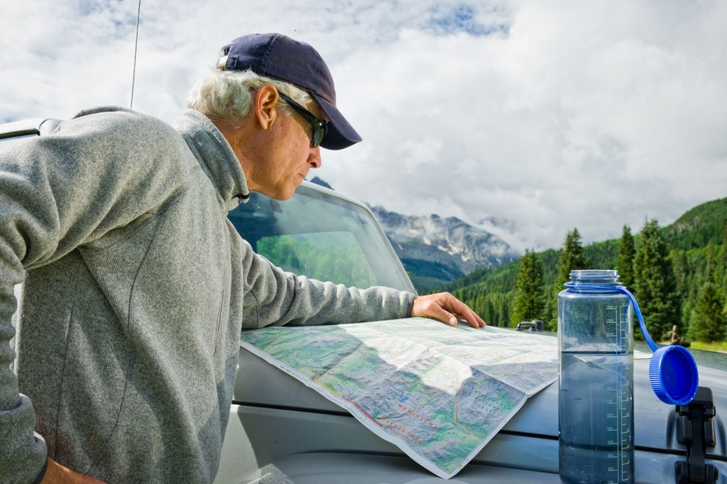 Maps and Gold Panning
